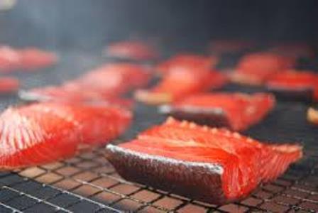 salmon smoking