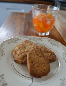 Coconut, Citrus & Curry leaf Biscuits